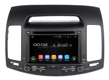 "Autoradio homologado HYUNDAI ELANTRA 2007-2011 Procesador de 8 nucleos con sistema operativo Android 8.0 - Pantalla 7"" + Camara Retro, DVD-TV-GPS-BT-USB-SD-WIFI (Importación 10D)"