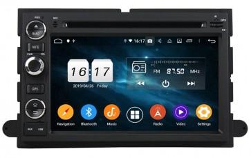 """Autoradio Homologado FORD EXPEDITION 2006-2009 Procesador 8 Nucleos (64+4) Android 9 - Pantalla 7"""" Tecnologia Ips con DVD-WIFI-GPS-BT-Procesador Audio DSP +Cam +TV Full HD (Importación 10D)"""