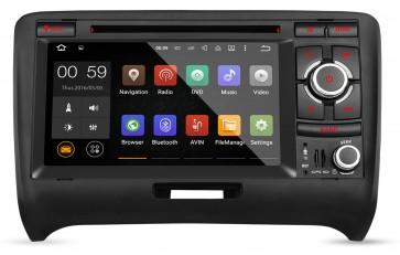 "Autoradio homologado para AUDI TT 2006-13 pantalla Tactil 7"" DVD,GPS,TV,Wifi,USB, SD+CamRetro (Importacion 7D) 4Nucleos ANDROID 5.1"