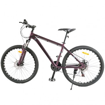 Bicicleta Montañera marca BICYSTAR aro 26 color Morado modelo MTB03 (Aluminio)