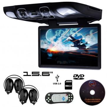 """Pantalla de techo 15.6"""" con lector de DVD, USB SD, AUX, resolucion 1366x768 MARCA XTRON (IMPORTACION 7D)"""