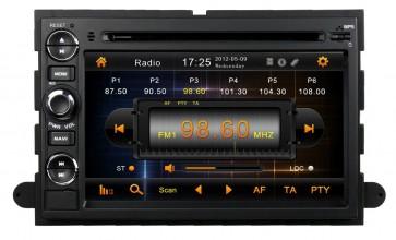 """Autoradio homologado FORD ECOESPORT 2006-2010 Android 8.0 procesador 8 Nucleos - Pantalla 7"""" + Camara Retro, DVD-TV-GPS-BT-USB-SD-WIFI (Importación 10D)"""