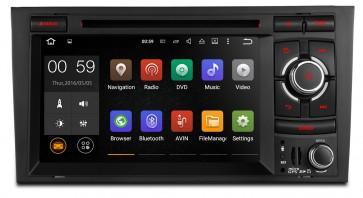 "Autoradio homologado para AUDI A4/S4/RS4 2002-08 pantalla Tactil 7"" DVD,GPS,TV,Wifi,USB, SD+CamRetro (Importacion 7D) 4Nucleos ANDROID 5.1"