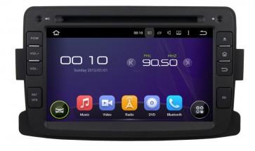 """Autoradio Homologado de Ultima Generacion Renault Duster 2012-2015 con DVD, GPS, Internet Wifi, TV, Pantalla Tactil 8"""" + Camara Retro (Importación 10D) 4 Nucleos Android 5.1.1"""