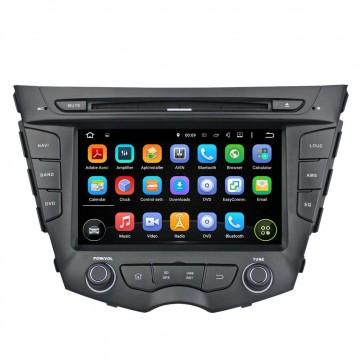 """Autoradio homologado HYUNDAI VELOSTER 2012-2015, Android 6.0.1, procesador 4 Nucleos - Pantalla 7"""" + Camara Retro, DVD-TV-GPS-BT-USB-SD-WIFI (Importación 10D)"""