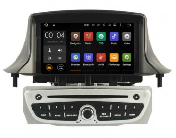 """Autoradio DVD con GPS, Internet 3G y TV para RENAULT Megane III 2008 - 2015 con pantalla Tactil de 7"""" + Camara Retro (Importacion)"""