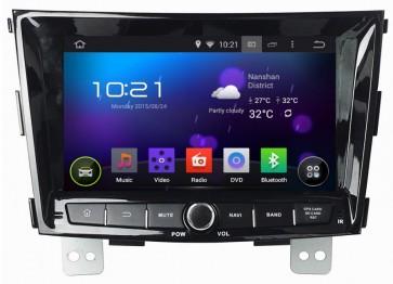 """Autoradio homologado SSANGYONG TIVOLI 2012-17 Procesador de 8 nucleos con sistema operativo Android 6.0.1 - Pantalla 8"""" + Camara Retro, DVD-TV-GPS-BT-USB-SD-WIFI (Importación 10D)"""