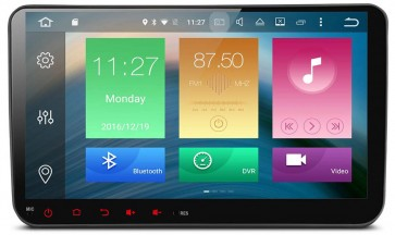 """Autoradio de ultima generación UNIVERSAL VW 2003 - 2015 de 9"""" Sistema Android 6.0.1 , 8 nucleos (Octacore) + Cámara Retro, GPS, Internet, TV (IMPORTACIÓN 7D)"""