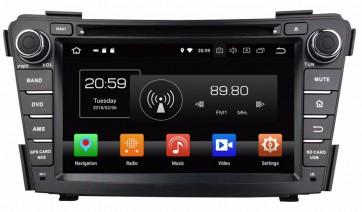 """Autoradio homologado HYUNDAI i40 2010-2018 Procesador de 8 nucleos con sistema operativo Android 8.0 - Pantalla 8"""" + Camara Retro, DVD-TV-GPS-BT-USB-SD-WIFI (Importación 10D)"""