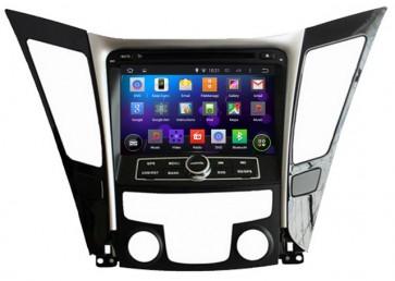 "Autoradio homologado HYUNDAI SONATA 2011-2015 Procesador de 8 nucleos con sistema operativo Android 8.0 - Pantalla 8"" + Camara Retro, DVD-TV-GPS-BT-USB-SD-WIFI (Importación 10D)"