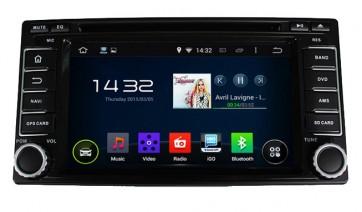 "Autoradio homologado SUBARU XV 2009-2015 Android 6.01 procesador 8 Nucleos - Pantalla 7"" + Camara Retro, DVD-TV-GPS-BT-USB-SD-WIFI (Importación 10D)"