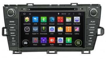 """Autoradio Homologado TOYOTA PRIUS 2009-2013 Procesador 8 Nucleos (64+4) Android 9 - Pantalla 8"""" Tecnologia Ips con DVD-WIFI-GPS-BT-Procesador Audio DSP +Cam +TV Full HD (Importación 10D)"""
