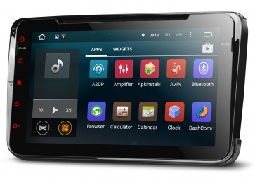 "Autoradio homologado SEAT LEON 2005-2012, Android 5.1.1, procesador 4 Nucleos - Pantalla 8"" + Camara Retro, DVD-TV-GPS-BT-USB-SD-WIFI (Importación 10D)"