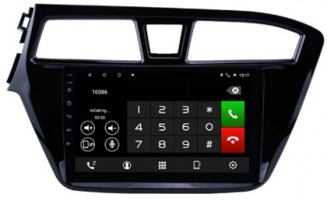 "Autoradio homologado HYUNDAI i20 2015-2018 Procesador de 8 nucleos con sistema operativo Android 8.0 - Pantalla 9"" + Camara Retro,SIN DVD-TV-GPS-BT-USB-SD-WIFI (Importación 10D)"