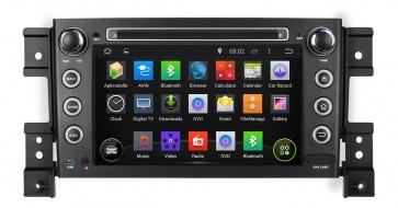 """Autoradio homologado SUZUKI GRAND VITARA-GRAND NOMADE 2005-2014 Procesador de 8 nucleos con sistema operativo Android 8 - Pantalla 7"""" + Camara Retro, DVD-TV-GPS-BT-USB-SD-WIFI (Importación 10D)"""