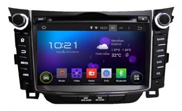 """Autoradio homologado HYUNDAI i30 2011-2016 Procesador de 8 nucleos con sistema operativo Android 8.0 - Pantalla 8"""" + Camara Retro, DVD-TV-GPS-BT-USB-SD-WIFI (Importación 10D)"""