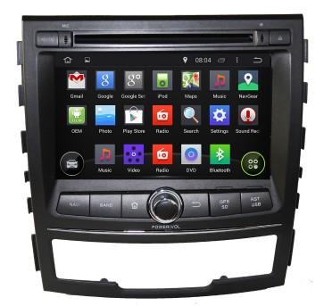 """Autoradio homologado SSANGYONG KORANDO 2010-2013 Procesador de 8 nucleos con sistema operativo Android 6.0.1 - Pantalla 7"""" + Camara Retro, DVD-TV-GPS-BT-USB-SD-WIFI (Importación 10D)"""