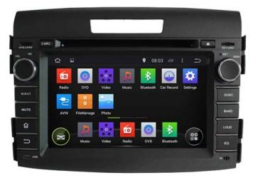 "Autoradio homologado HONDA CRV 2012-2016, Procesador de 8 nucleos con sistema operativo Android 8.0 - Pantalla 7"" + Camara Retro, DVD-TV-GPS-BT-USB-SD-WIFI (Importación 10D)"
