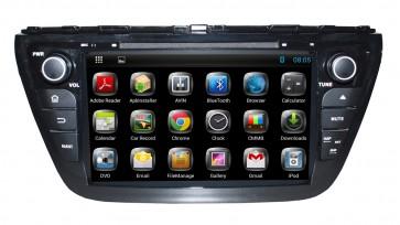 "Autoradio homologado SUZUKI SX4 2014-2016 Procesador de 8 nucleos con sistema operativo Android 8 - Pantalla 8"" + Camara Retro, DVD-TV-GPS-BT-USB-SD-WIFI (Importación 10D)"