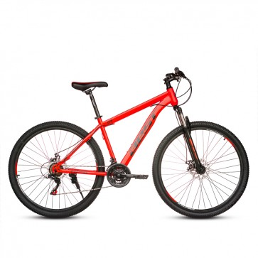 "Bicicleta Montañera BEST modelo INKA aro 29"" talla M (Rojo con Negro)"