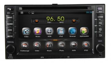"""Autoradio homologado KIA SORENTO 2006-2011 Android 7.1 procesador 4 Nucleos - Pantalla 6.2"""" + Camara Retro, DVD-TV-GPS-BT-USB-SD-WIFI (Importación 10D)"""
