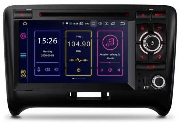 """Autoradio Homologado para AUDI TT 2006-13 Procesador 8 Nucleos (64+4) Android 10 - Pantalla 7"""" con DVD-WIFI-GPS-BT-Procesador Audio DSP +Cam +TV Full HD (Importación 7D) PREMIUM series"""