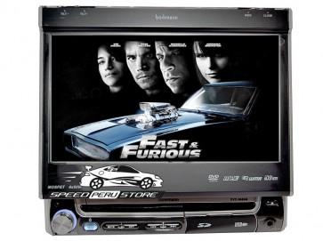 "Autoradio Bowmann Dvd Con Pantalla 7"" Motorizada y Bluetooth"
