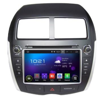 "Autoradio homologado PEUGEOT 4008 2008-2016  Android 5.1.1 procesador 4 Nucleos - Pantalla 8"" + Camara Retro, DVD-TV-GPS-BT-USB-SD-WIFI (Importación 10D)"
