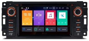 """Autoradio homologado JEEP COMMANDER 2008-2010  Android 8.0 procesador 8 Nucleos - Pantalla 6.2"""" + Camara Retro, DVD-TV-GPS-BT-USB-SD-WIFI (Importación 10D)"""