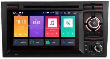 "Autoradio homologado para AUDI A4/S4/RS4 2002-08 pantalla Tactil 7"" DVD, GPS, TV, Wifi, USB, SD+CamRetro (Importacion 7D) 8Nucleos ANDROID 8.0"