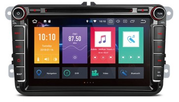 """Autoradio de ultima generación UNIVERSAL VW 2003 - 2017 de 8"""" Sistema Android 8.0 , 8 nucleos (Octacore) + Cámara Retro, GPS, Internet, TV (IMPORTACIÓN 7D)"""