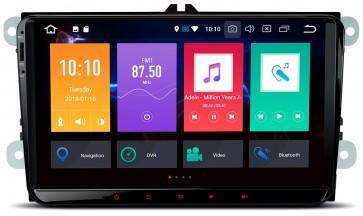 """Autoradio de ultima generación UNIVERSAL VW 2003 - 2017 de 9"""" Sistema Android 8.0 , 8 nucleos (Octacore) + Cámara Retro, GPS, Internet, TV (IMPORTACIÓN 7D)"""