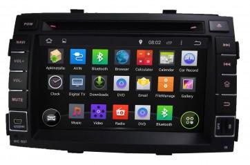 """Autoradio homologado KIA SORENTO 2011-2012 Procesador de 8 nucleos con sistema operativo Android 8.0 - Pantalla 7"""" + Camara Retro, DVD-TV-GPS-BT-USB-SD-WIFI (Importación 10D)"""
