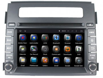 "Autoradio homologado KIA SOUL 2012-2013 Procesador de 8 nucleos con sistema operativo Android 8.0 - Pantalla 8"" + Camara Retro, DVD-TV-GPS-BT-USB-SD-WIFI (Importación 10D)"