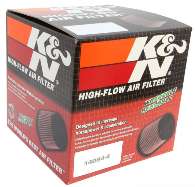 Speed peru store filtro aire universal c nico rubber 4 5 3 8 x 4 3 8 5 marca k n filtros for Espejo universal tractor