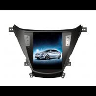 Autoradio homologado HYUNDAI ELANTRA 2012-2015 Procesador de 4 nucleos Sistema Android 6 Hyundai - Pantalla Tesla 10.4