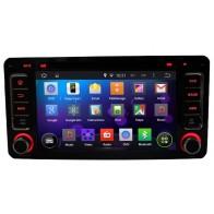 Autoradio homologado MITSUBISHI OUTLANDER 2013-16 Android 8.0 procesador 8 Nucleos - Pantalla 6.5