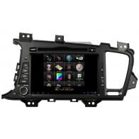 Autoradio homologado KIA OPTIMA 2012-2013 Procesador de 8 nucleos con sistema operativo Android 8.0 - Pantalla 8
