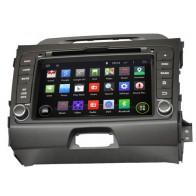 Autoradio DVD con GPS, Internet 3G y TV para Kia Sportage (2010-2015) con pantalla Tactil de 8