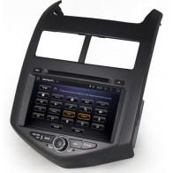 Autoradio DVD con GPS, Internet 3G y TV para CHEVROLET AVEO 2012-2015  con pantalla Tactil de 7