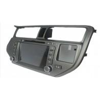 Autoradio DVD con GPS, Internet 3G y TV para KIA RÍO (2011-15) con pantalla Tactil de 8