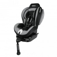 Silla para auto marca SPARCO con sistema ISOFIX modelo F500i color negro con gris