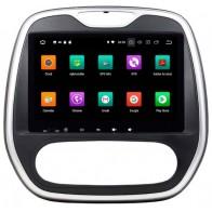 Autoradio homologado Renault Captur 2017-18 (A/C con Climatizdor) Procesador de 8 nucleos con sistema operativo Android 8 - Pantalla 9