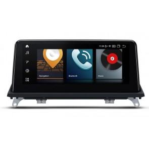 """Autoradio Homologado BMW X5 E70 del 2011-13 Procesador 8 Nucleos (64+4) Android 10 - Pantalla 10.25"""" wide-screen con WIFI-GPS-BT-Procesador Audio DSP +Cam +TV Full HD +Carplay (Importación 7D) PREMIUM series"""