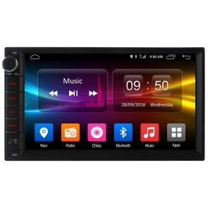 """Autoradio de ultima generación 2DIN UNIVERSAL con DVD Pantalla 6.95"""" Procesador 8 Nucleos + Camara Retro, GPS, BT, Internet Wifi, TV Digital (IMPORTACIÓN 7D) Android 6.0 4G LTE"""