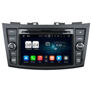 "Autoradio homologado SUZUKI SWIFT 2011-2015 Procesador de 8 nucleos con sistema operativo Android 8 - Pantalla 7"" + Camara Retro, DVD-TV-GPS-BT-USB-SD-WIFI (Importación 10D)"