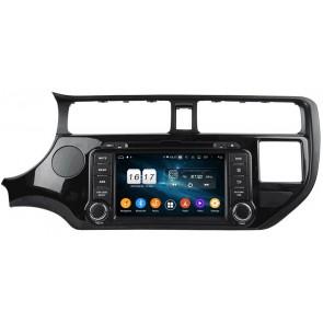 """Autoradio Homologado KIA RIO 2011-2015 Procesador 8 Nucleos (64+4) Android 10 - Pantalla 8"""" Tecnologia Ips con DVD-WIFI-GPS-BT-Procesador Audio DSP +Cam +TV Full HD (Importación 10D) PREMIUM series"""