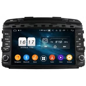 "Autoradio Homologado KIA SORENTO 2015-2018 Procesador 8 Nucleos (64+4) Android 10 - Pantalla 8"" Tecnologia Ips con DVD-WIFI-GPS-BT-Procesador Audio DSP +Cam +TV Full HD (Importación 10D) PREMIUM series"
