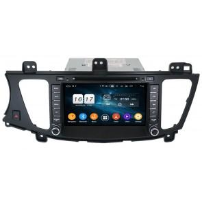 """Autoradio Homologado KIA CADENZA 2009-2012 Procesador 8 Nucleos (64+4) Android 9 - Pantalla 8"""" Tecnologia Ips con DVD-WIFI-GPS-BT-Procesador Audio DSP +Cam +TV Full HD (Importación 10D)"""