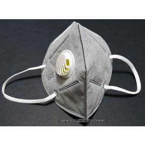 Mascarilla con valvula respiratoria KN95 GEN-K6V-GR de 6 capas (unidad)